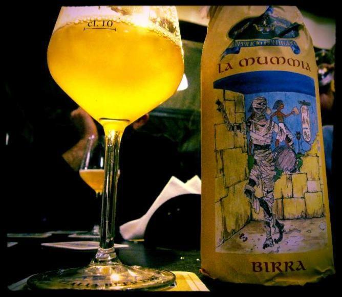 Birrificio di Montegioco's La Mummia  List of 10 of the best breweries in Italy!!