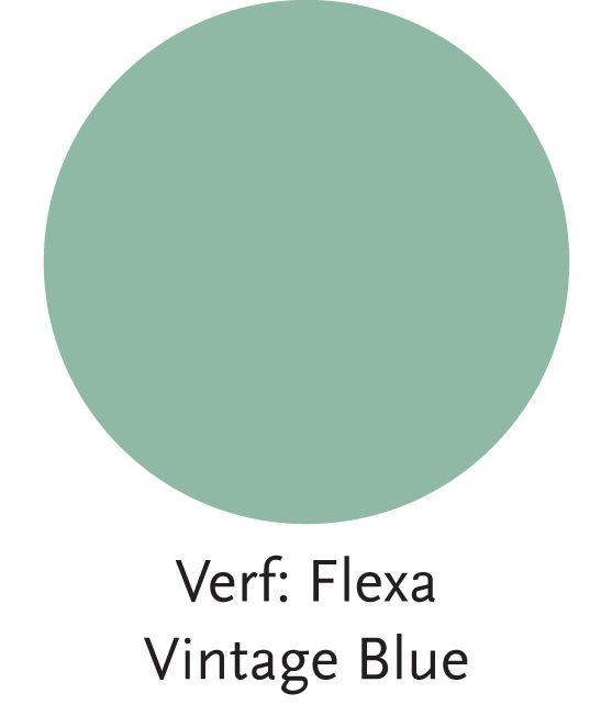 Stijl Studio Modern Nomad   Wand kleur Vintage Blue   #Flexa #Eijerkamp #kleurinspiratie