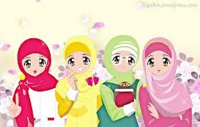 Cute Muslimah Cartoon Pictures Pelautscom