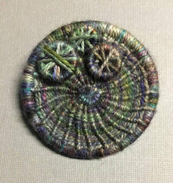 Dorset Button Brooch  beautiful