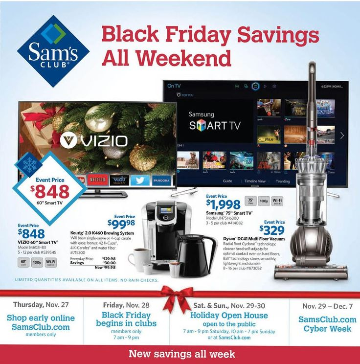 Sam's Black Friday Ad 2014!