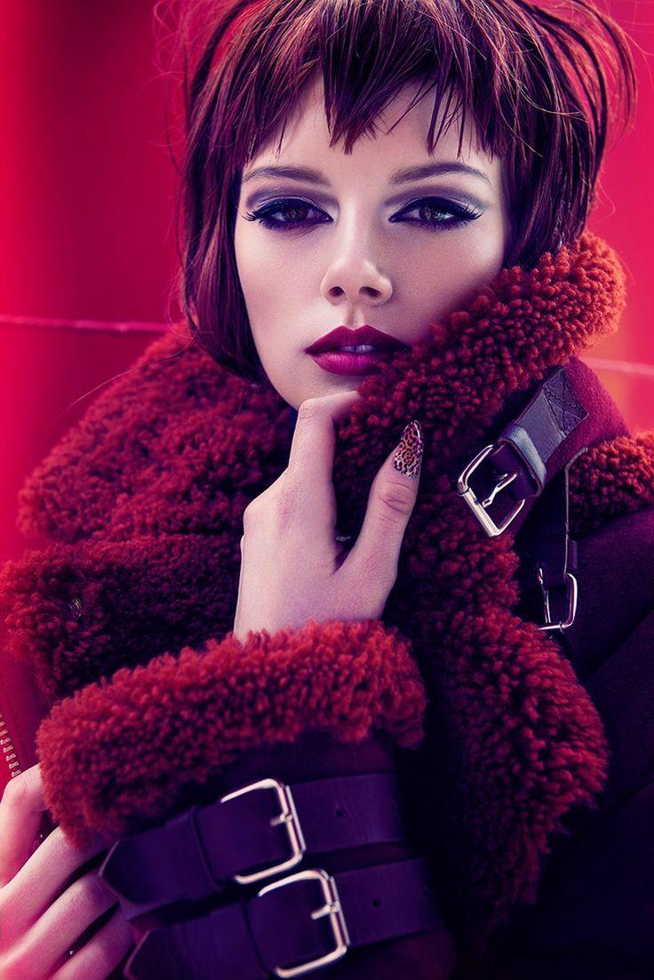Lisa Burestad love the makeup