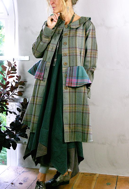 Attius Coat in pure wool, £425.