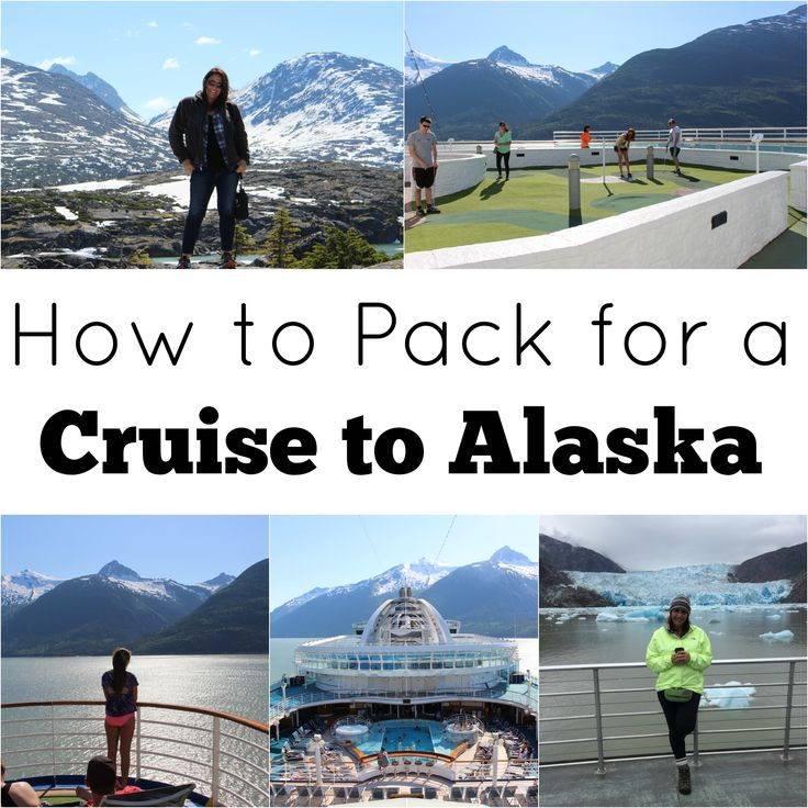 How to pack for a cruise to Alaska! Great tips for traveling.