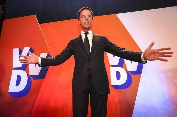 Vi er nødt til at danne en stabil regering og lede landet, siger Hollands premierminister Rutte.