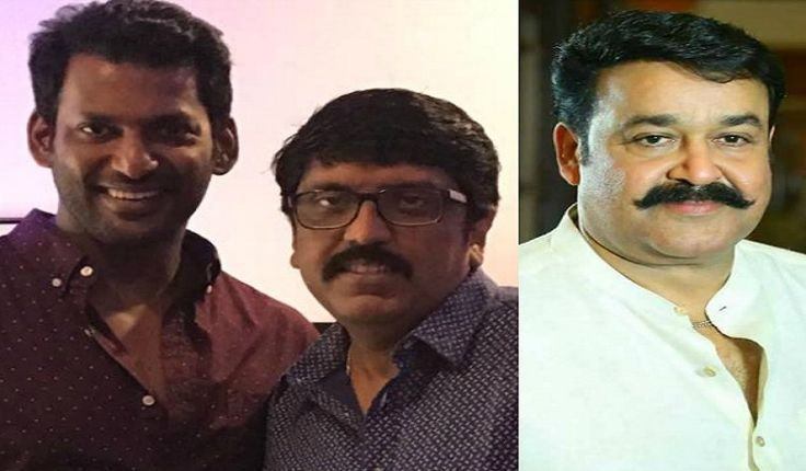 Actor Vishal to do negative role in actor Mohanlal's new film with director Unnikrishnan