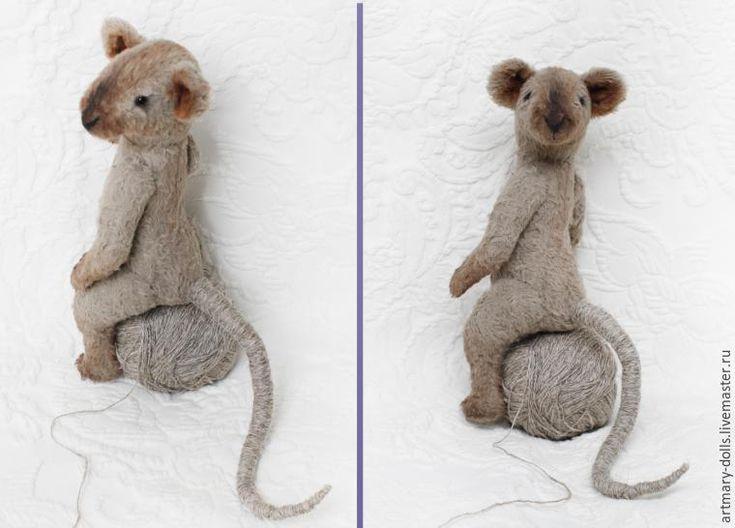 Как сделать хвост мышке или крысе - Ярмарка Мастеров - ручная работа, handmade