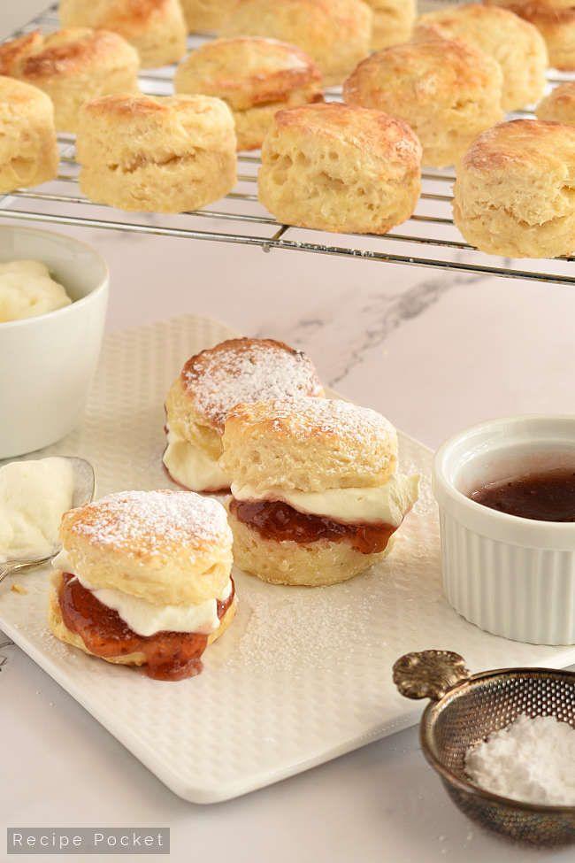 Easy Soft And Fluffy Buttermilk Scones Recipe Makes 16 Scones Recipe In 2020 Buttermilk Scone Recipe Scone Recipe Recipes