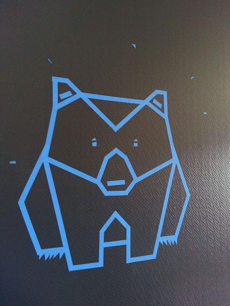 Masking tape  #washitape #maskingtape #bear