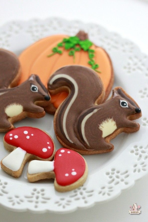 Squirrel Cookie Video Tutorial