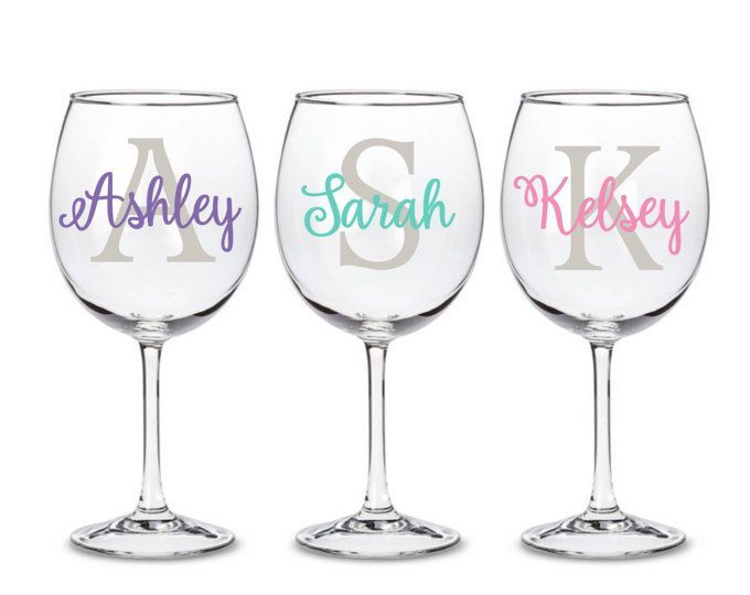 Custom Name Decals Personalized Decals For Wedding Birthdays Party Bachelorette Custom Wedding Wedding Stickers Personalized Vinyl Decal