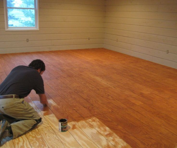 Where To Buy Cheap Wood Flooring: What A Neat And Cheap Idea! Hardwood Floor Out Of Plywood