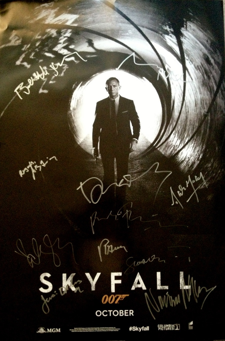 230 best images about Autographed Movie posters signed by ...