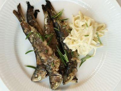 FOOD BY SKADBORG SVARE: Grillede sardiner med selleriremoulade og rosmarin...