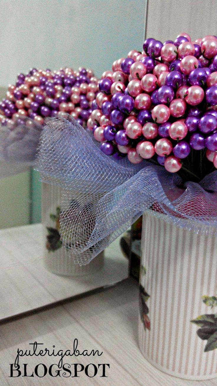 Nursaila Norman: Pearl Hand Bouquet : Bride 2 Be Subang Jaya