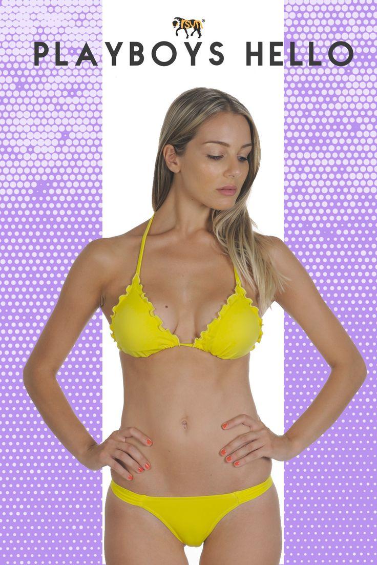 Bikini triangolo smerlato con coppa estraibile.Slip perizzoma con fascette laterali. Questo Modello permette di risaltare il proprio lato estroverso senza perdere eleganza e raffinatezza. #orsunshop #costumidadonna #bikini #girl #estate #modamare #voglidimare #relax #bella #fashion #hot #happy #iphonesia #glamour