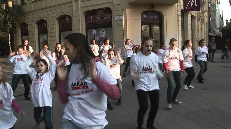 Árkád Győr 5 éves - Táncoló talpak #2