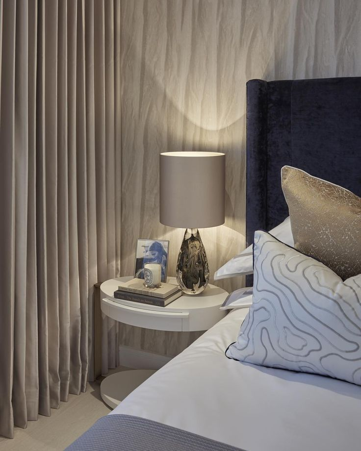 This design was all about soft tones, and subtle pattern and texture #interiordesign #interiorstyling #luxuryinteriors #laurahammett