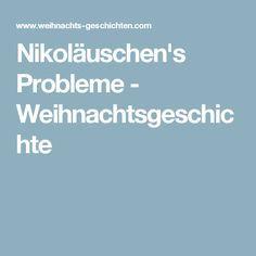 Nikoläuschen's Probleme - Weihnachtsgeschichte