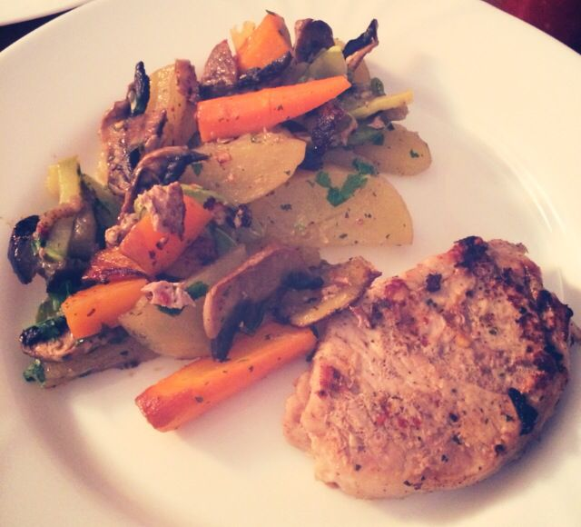 Dinner #pork