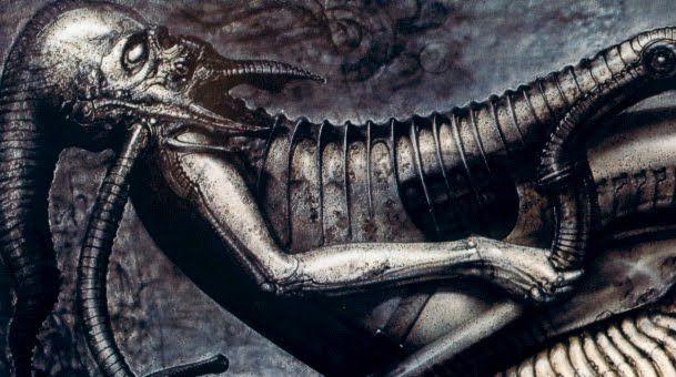 Alien Explorations: Alien : Evolution of the Space Jockey via ...