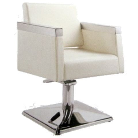 Zurich beauty hollywood salon chair off white salon for White salon furniture
