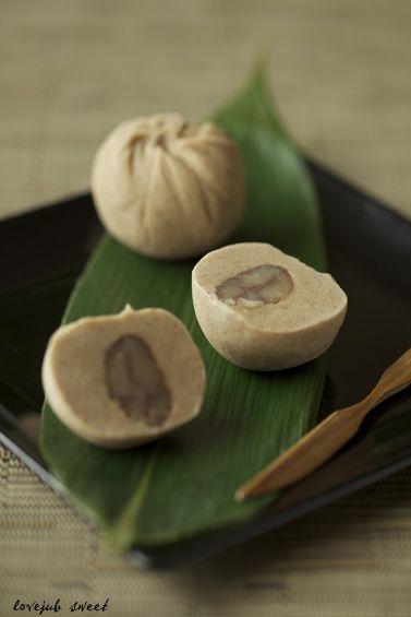 Homemade Kuri-Kinton, Mashed Sweetened Chestnuts 栗きんとん