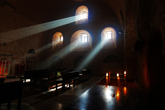 St. Gabriel's, the oldest surviving Syriac Orthodox monastery...dates back to 397 AD.