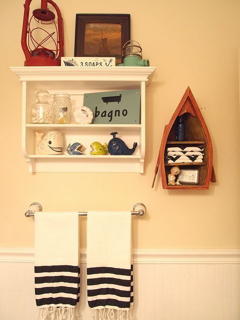 52 best Bathroom (Nautical themed) images on Pinterest | Nautical ...