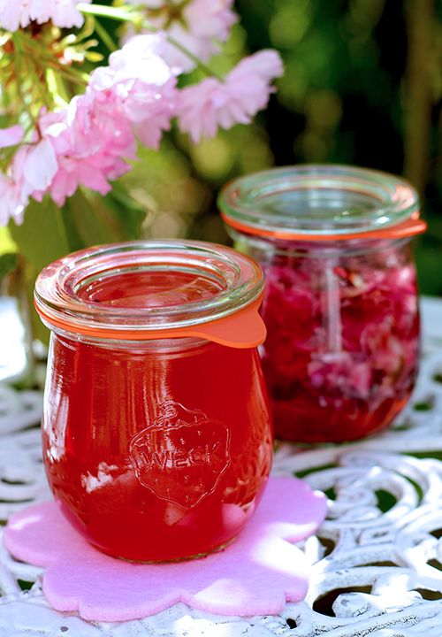 sakura syrup and liqueur