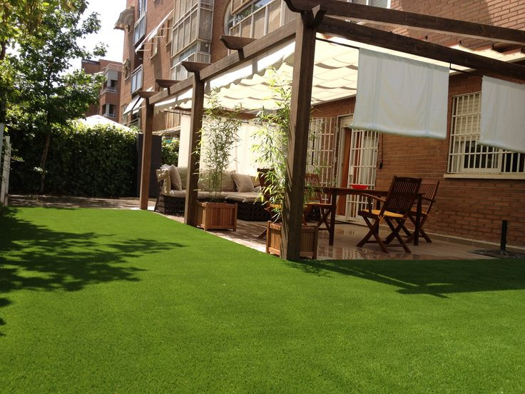 Colocar Cesped Artificial Terraza. Excellent Elegant With Cesped ...