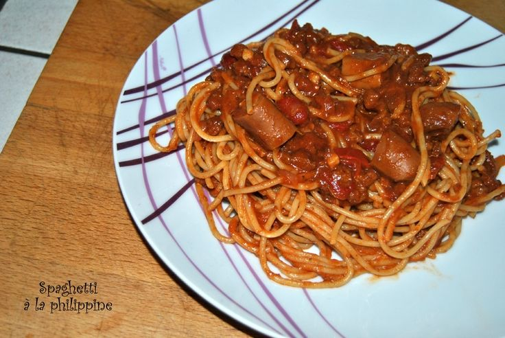 Spaghetti à la philippine