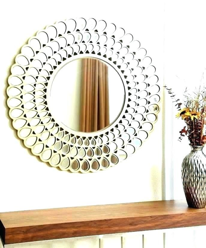 50 Circle Mirrors Bedroom Ideas Lighted Wall Mirror Mirror Wall Mirror Design Wall