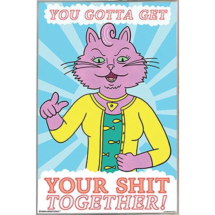 USA BoJack Horseman - Princess Carolyn Poster in a Metal Frame