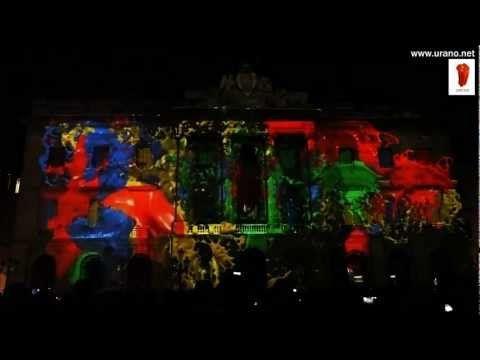 La Casa Màgica - Mapping Barcelona Mercè'11 -