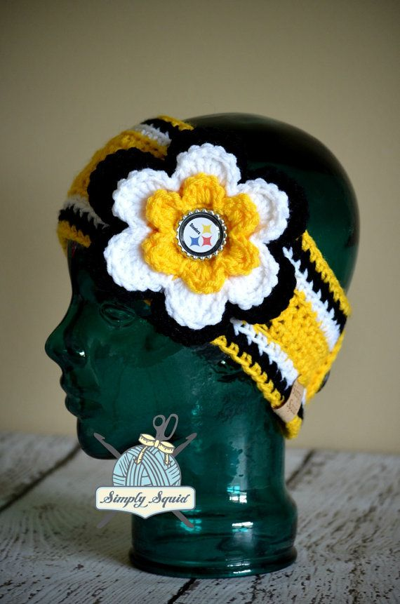 READY 2 SHIP Teen/Adult Pittsburg Steelers by SimplySquid on Etsy, $25.00
