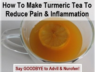 How To Make Turmeric Pain Relief Tea 2 tablespoons of grated fresh turmeric root, or 1 heaped teaspoon of ground turmeric 4 cups of water Honey/fresh lemon to taste