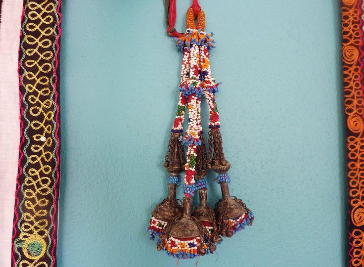 Tribal Perlen-Quasten, Vintage von SALOME  auf DaWanda.com