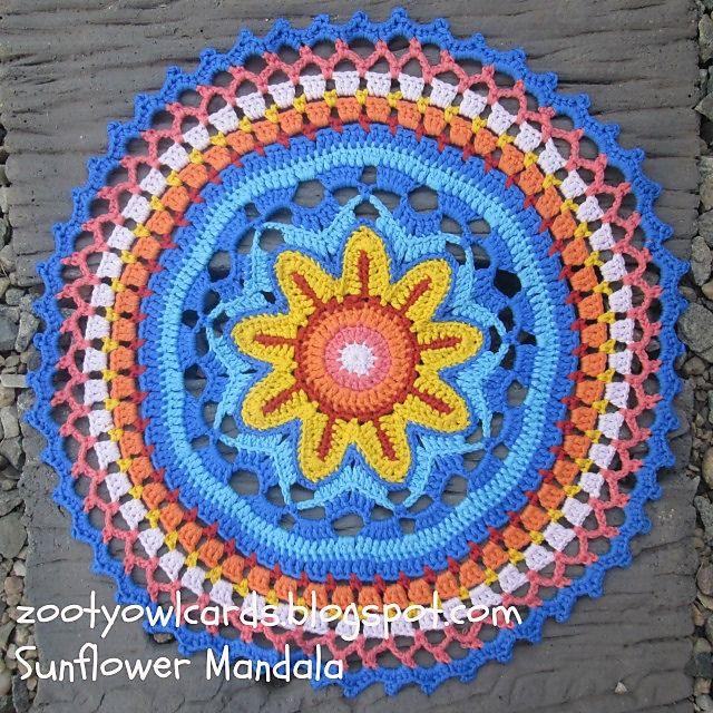 1000 Ideas About Sunflower Mandala On Pinterest