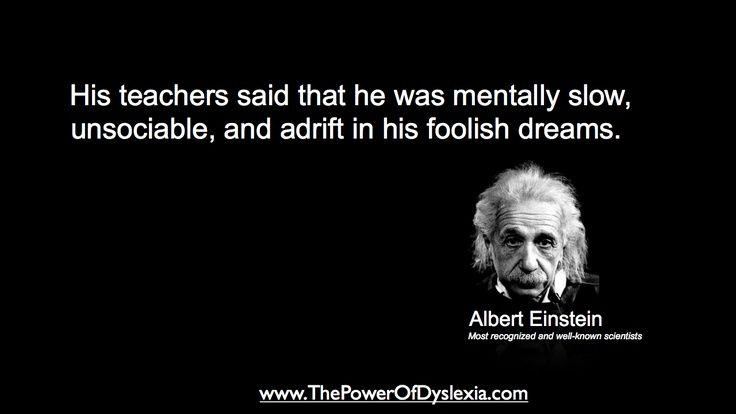 Famous Quotes About Dyslexia. QuotesGram