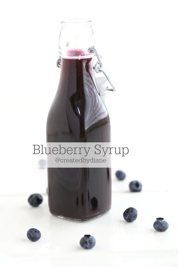 Fresh blueberry syrup is easy to make and you can use it in many fun drinks, like margaritas, lemonade, Italian cream sodas and it's great over ice cream