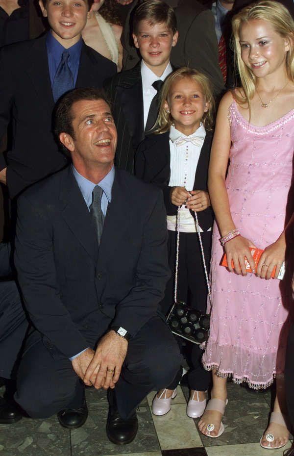 mika boorem skye mccole | Reuters Photographer / Reuters) Mel Gibson, mit dem Kinder-Cast aus ...