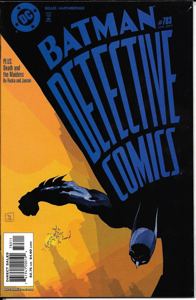 Detective Comics #783 NM First Appearance Nyssa Raatko Ra's Al Ghul Daughter