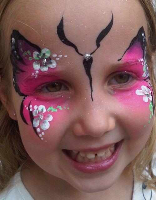 150 best face painting girls images on pinterest face painting designs face paintings and. Black Bedroom Furniture Sets. Home Design Ideas