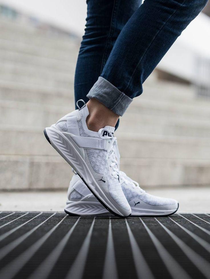 Puma Ignite evoKNIT Lo | Puma shoes women, Pumas shoes, Sneakers