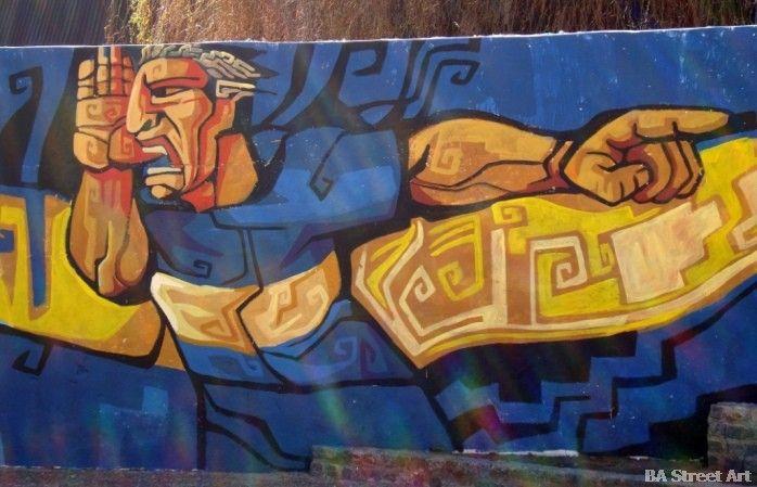Mural de Martin Palermo (para el Boca Juniors) en Buenos Aires  (via http://buenosairesstreetart.com)
