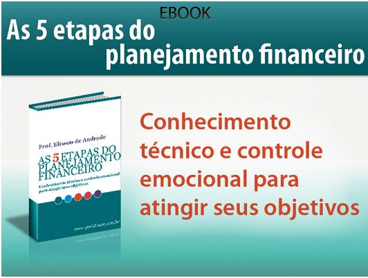 Ebook – As 5 etapas do planejamento financeiro – Cursos Sem Sair de Casa