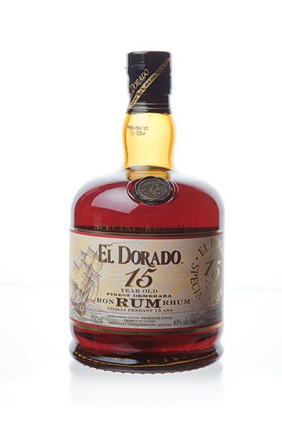 RUM: El Dorado 15 years Old Special Reserva Demerara ≈