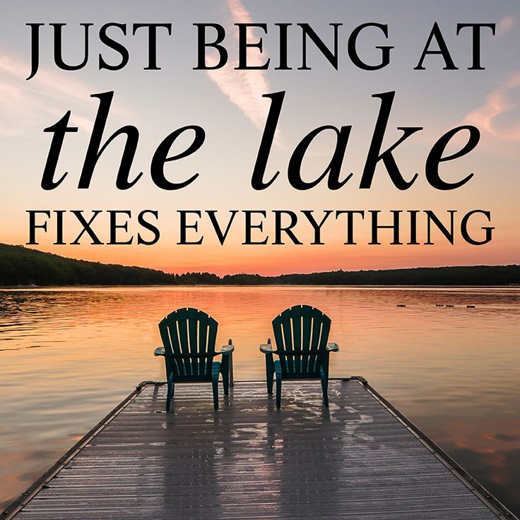 It sure does...Deep Creek Lake, Maryland