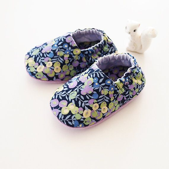 Liberty Baby Slippers